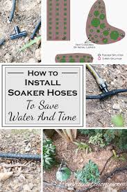 garden soaker hose. Wonderful Hose How To Install Soaker Hoses Save Water And Time  Want Have An  Automatic To Garden Soaker Hose I