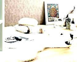 faux polar bear rug bear rug for nursery faux bear skin rug with head faux bear