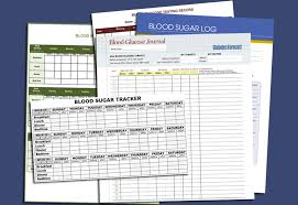 blood glucose log sheets 5 free printable blood sugar log templates