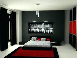 decoration: Red And Black Room Ideas White Bedroom Decorating Silver ...