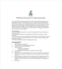 Nonprofit Board Meeting Agenda Template All About Letter Examples ...