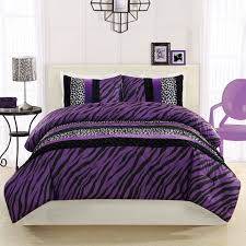 Purple And Black Bedroom Black And White And Purple Bedding