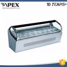 luxury ice lolly countertop gelato display cabinet pictures photos