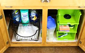 Under Kitchen Sink Storage Under The Kitchen Sink Storage Sink Ideas