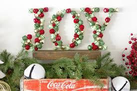 JOY jingle bells Christmas decoration