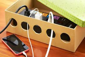 DIY Charging Station Ideas