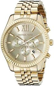 17 best images about watch jewelry watches michael michael kors men s lexington gold tone watch mk8281 michael kors