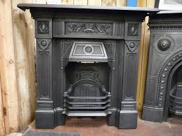 antique victorian cast iron fireplace the scotia 098lc old fireplaces