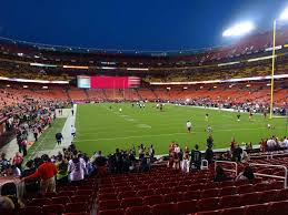 Fedexfield View From Lower Level 113 Vivid Seats