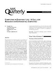 Design A Research Useful In Daily Life Pdf Computing In Everyday Life A Call For Research On
