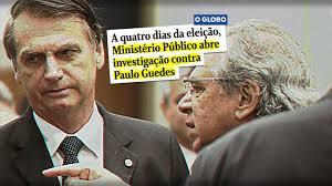 Resultado de imagem para Bolsonaro e Guedes expuseram aos americanos seus complexos de vira latas