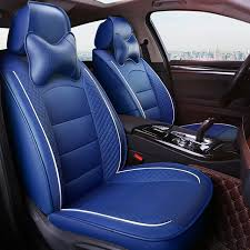 custom leather car seat cover only 2 pc front for peugeot 206 cc 307 308 sw 407 3008 607 4008 307sw auto accessories