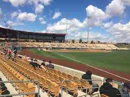Camelback Ranch Glendale Seating Chart Camelback Ranch Section 1 Rateyourseats Com