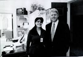 Monica lewinsky blow job