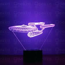 color changing star lights enterprise star trek illusion night light led 7 color change desk table color changing