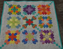 Paper Piecing Flower English Paper Piecing Flower Box Quilt