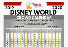 Disney World 2020 Crowd Calendar Best Times To Go Wdw