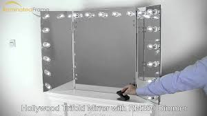 three way dressing mirror trifold mirror hinged mirror