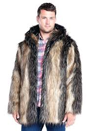 mens fake fur coat pieced fox hooded faux fur jacket faux fur jackets mens faux fur mens fake fur coat