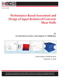 Small Picture Performance based assessment and design of squat reinforced