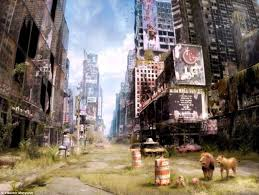 the best i am legend ideas films zombie movies apocalypse now russian artist transforms real life photographs to show how cities might look after the end of the world i am legendapocalypse