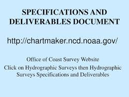 Chart Maker Ncd Noaa Gov Ppt Prioritizing Hydrographic Survey Requirements For
