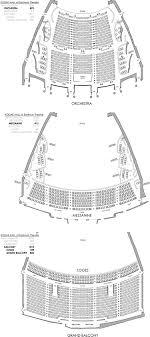 Kodak Hall At Eastman Theatre Seating Chart Eastman Theatre