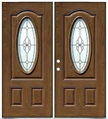 star front door entry finished oak fiberglass double doors oval another great lovely exterior wood with