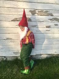 garden gnome costume for boys