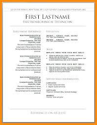 Sample Resume Download In Word Format Resume Builder Template