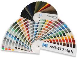 Fed Std 595b Color Chart Federal Standard 595 A