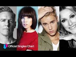 Every Uk Number 1 Single By Canadian Acts 1952 2019