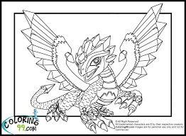Realistic Fire Breathing Dragon Coloring Pages To Print 3 J Special