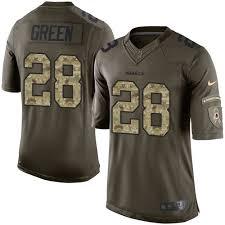 Jersey Green Darrell Washington Redskins