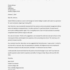 Intern Recommendation Letter Sample Sample Recommendation Letter For Student Letterform231118 Com
