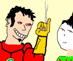 Image result for Tony stark stoned cartoon