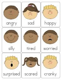 Emotions Chart For Kindergarten I Have Collected Over The Years Several Sources To Use With