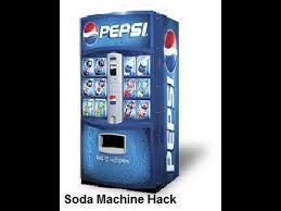 Pop Vending Machine Best Soda Machine Hack Code YouTube