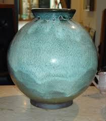 Black potter basket vintage