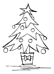 christmas tree drawing outline. Delighful Christmas Drawing Christmas Pictures  Coloring Pages Wallpaper And Tree Outline D