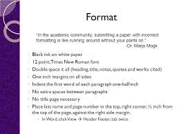 Mla Format Online 12 Point Paper Elements Of Mla Format And Documentation Ppt Video