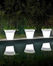rust oleum glow in the dark paint flower pots. rotoluxe™ vazon methuselah planter - outdoor use | solar, dark and gardens rust oleum glow in the paint flower pots