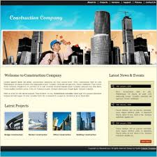 Construction Website Templates Mesmerizing Construction Company Template Free Website Templates In Css