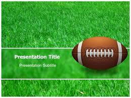 Powerpoint Template Soccer Themed Presentation Field Sabotageinc Info