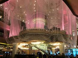 interior home design ideas chandelier bar vegas appealing lamps frankie us las vegas chandelier aria bar