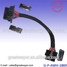 obd2 wiring harness wiring diagram gm obdii obd2 wiring harness connector pigtail harness ls1 lt1 aldl obd2 gsr wiring harness diagram