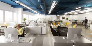 open office concept. the concept of open office interior design a
