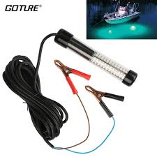 Goture Fishing Light Us 27 35 52 Off Goture Fishing Accessories Led Fishing Light 12v 10 8w Submersible With 5m 5 47yd Cord White Blue Green Color In Fishing Tackle