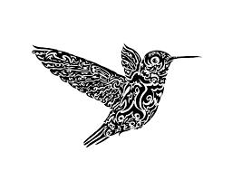 tribal hummingbird tattoo drawing. Beautiful Hummingbird Black Tribal Hummingbird Tattoos Design  Tattoo Designs Inside Drawing U