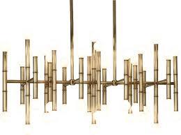 robert abbey jonathan adler meurice chandelier natural brass